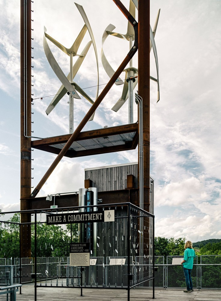 美国弗吉尼亚州的可持续树屋 (6)