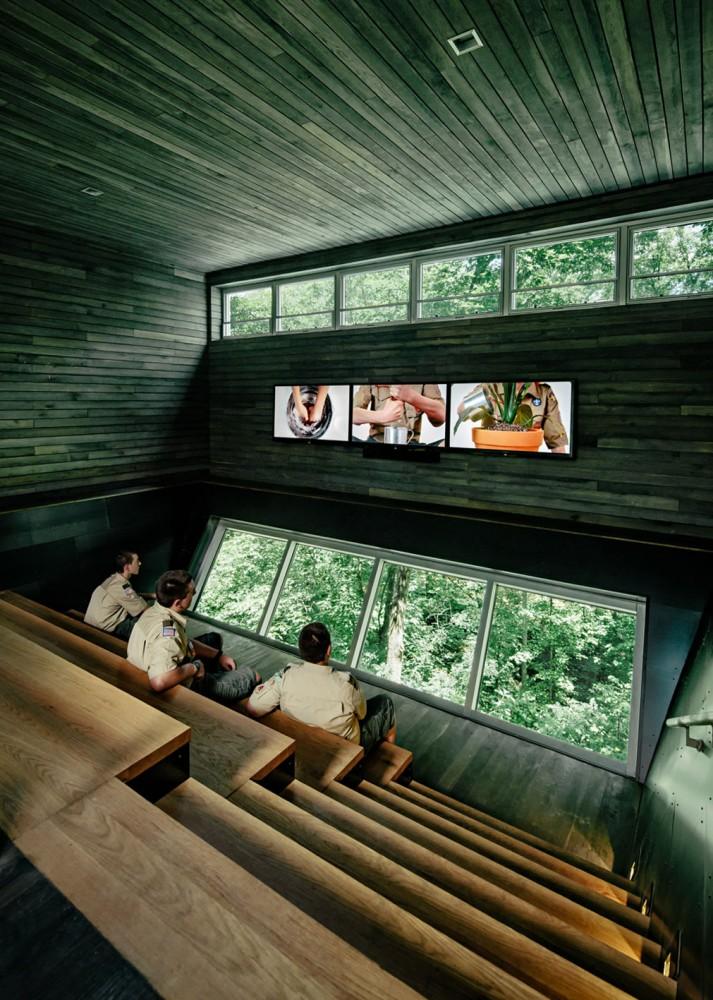 美国弗吉尼亚州的可持续树屋 (7)