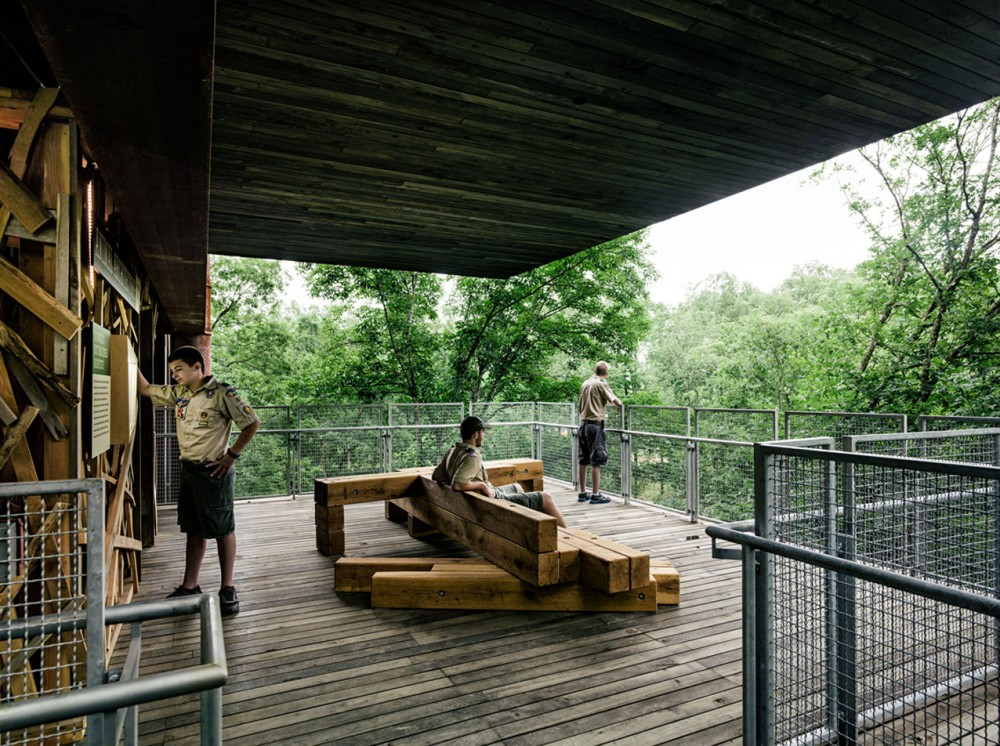 美国弗吉尼亚州的可持续树屋 (8)