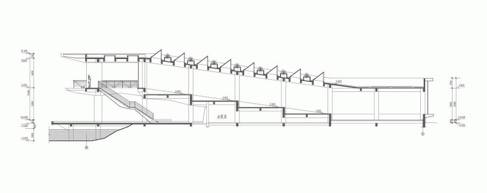 园桥平面图设计