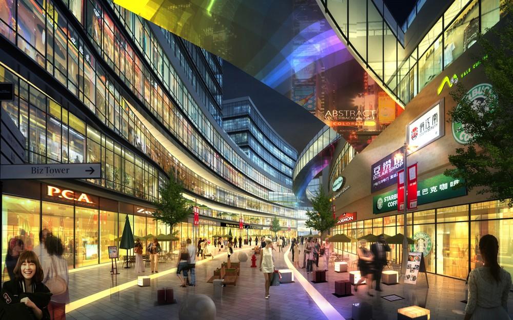 上海虹桥机场中央商务区  (4)