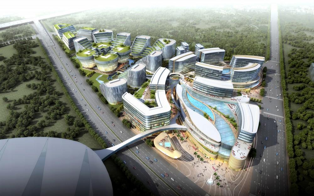 上海虹桥机场中央商务区  (7)