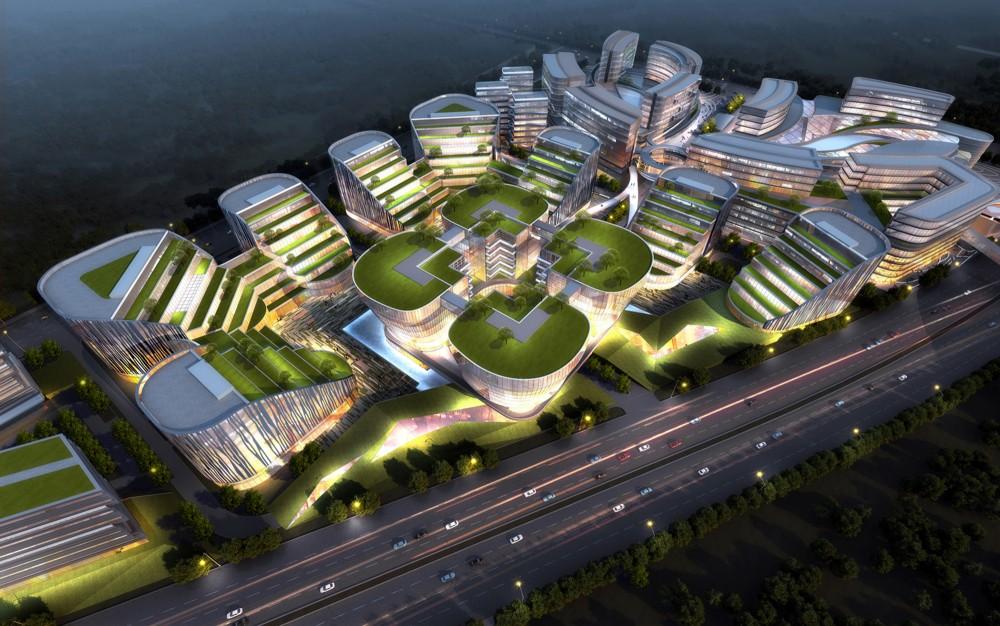 上海虹桥机场中央商务区  (8)
