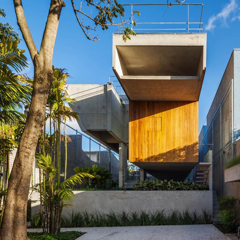 巴西圣保罗市区的周末度假屋 (1)