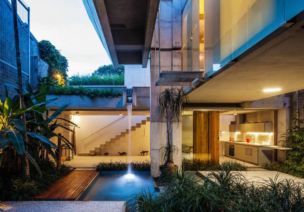 巴西圣保罗市区的周末度假屋 (6)