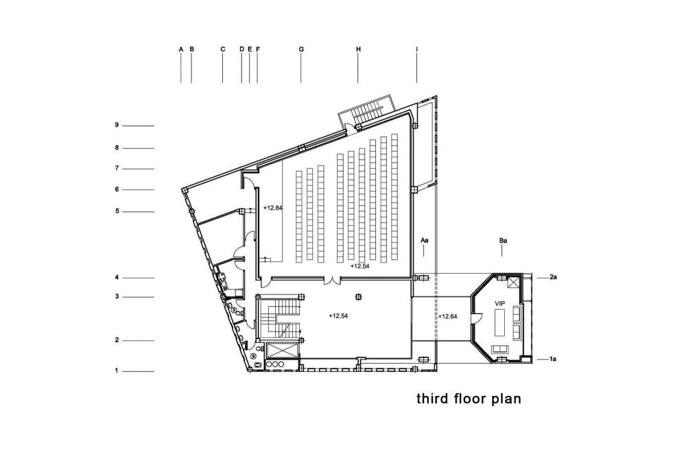 伊朗加兹温建筑工程条例规划办公楼  (3)