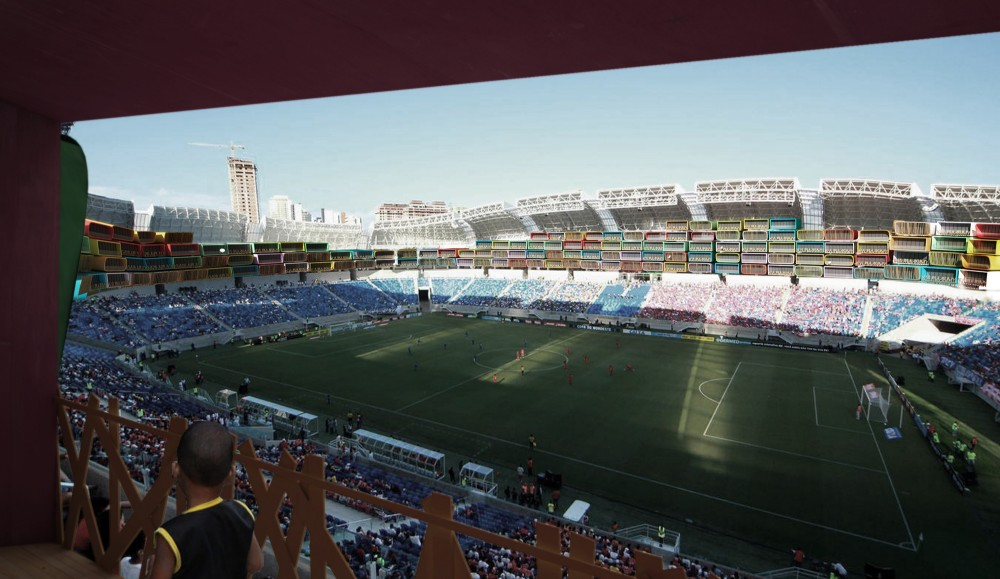 巴西世界杯场馆进改造方案Casa Futebola different olympic legacy for brazil s stadiu  (8)