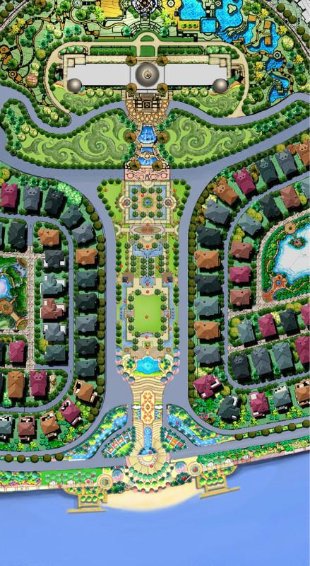小区入口景观方案集锦 (1)