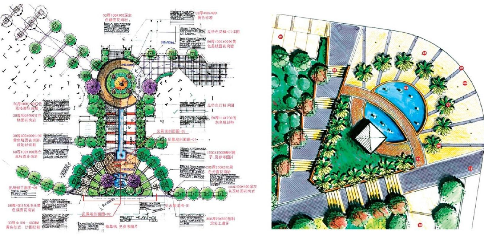 小区入口景观方案集锦 (23)