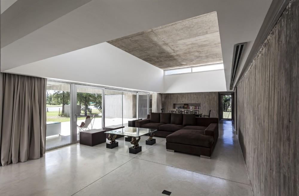 阿根廷圣菲省罗M住宅 casa m estudio aire Estudio Aire (13)