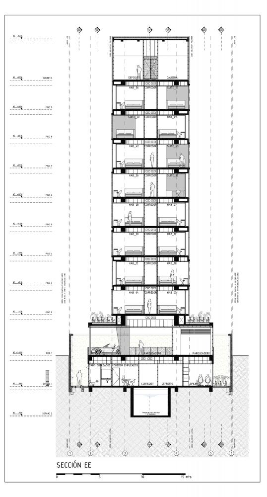 哥伦比亚波哥大克里克莱克酒店 (21)