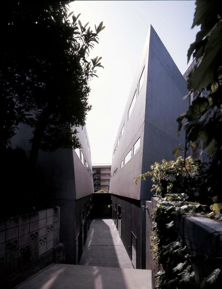 日本东京涩谷Ebisu联排住宅 ebisu town house (1)