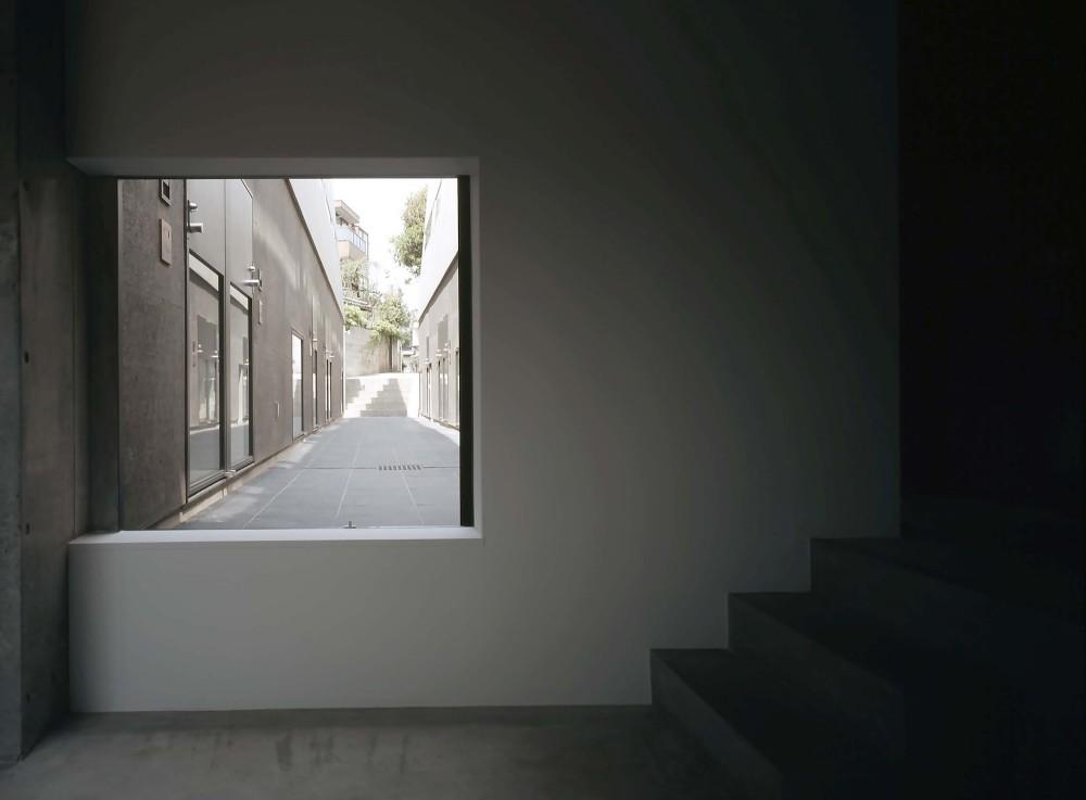 日本东京涩谷Ebisu联排住宅 ebisu town house (2)