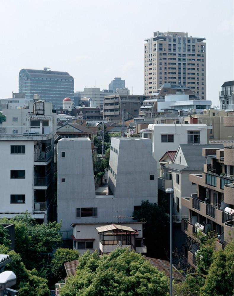 日本东京涩谷Ebisu联排住宅 ebisu town house (5)