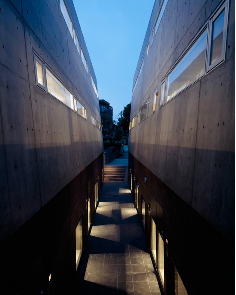 日本东京涩谷Ebisu联排住宅 ebisu town house (6)