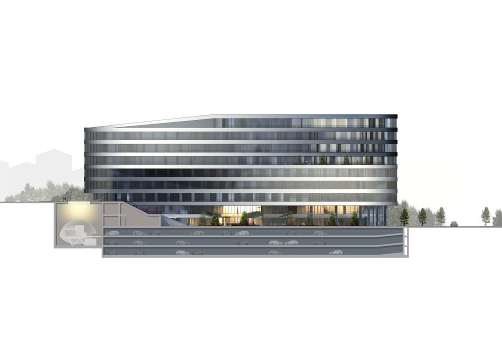 土耳其伊斯坦布Esas Aeropark多功能大楼 (9)