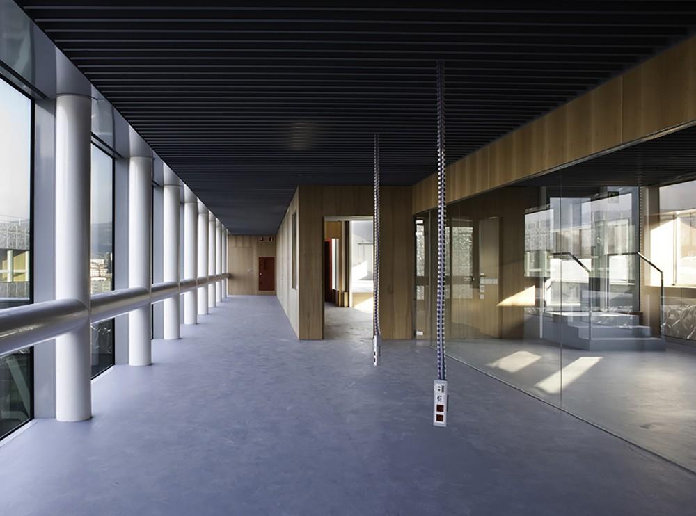西班牙毕尔巴鄂消防站 firemen house coll barreu arquitectos Coll-Barreu Arquitectos (3)