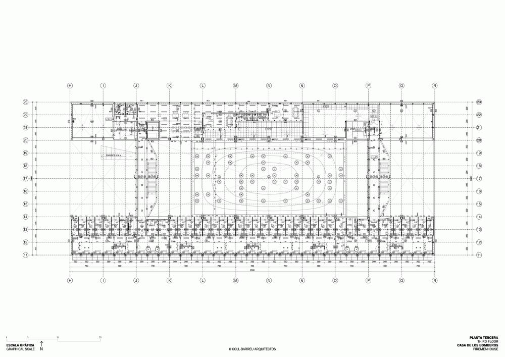 西班牙毕尔巴鄂消防站 firemen house coll barreu arquitectos Coll-Barreu Arquitectos (4)