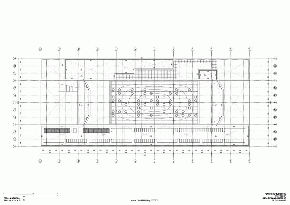 西班牙毕尔巴鄂消防站 firemen house coll barreu arquitectos Coll-Barreu Arquitectos (5)