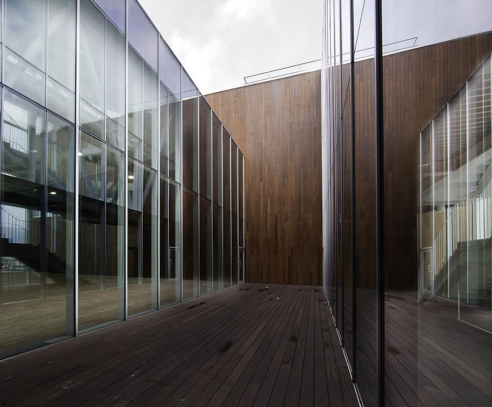 西班牙毕尔巴鄂消防站 firemen house coll barreu arquitectos Coll-Barreu Arquitectos (12)