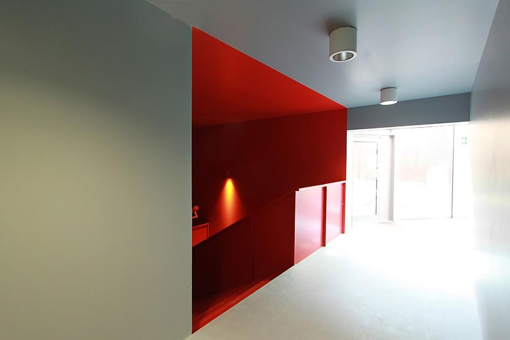 西班牙毕尔巴鄂消防站 firemen house coll barreu arquitectos Coll-Barreu Arquitectos (14)