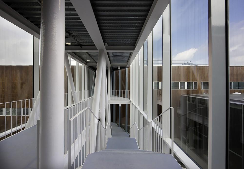 西班牙毕尔巴鄂消防站 firemen house coll barreu arquitectos Coll-Barreu Arquitectos (20)