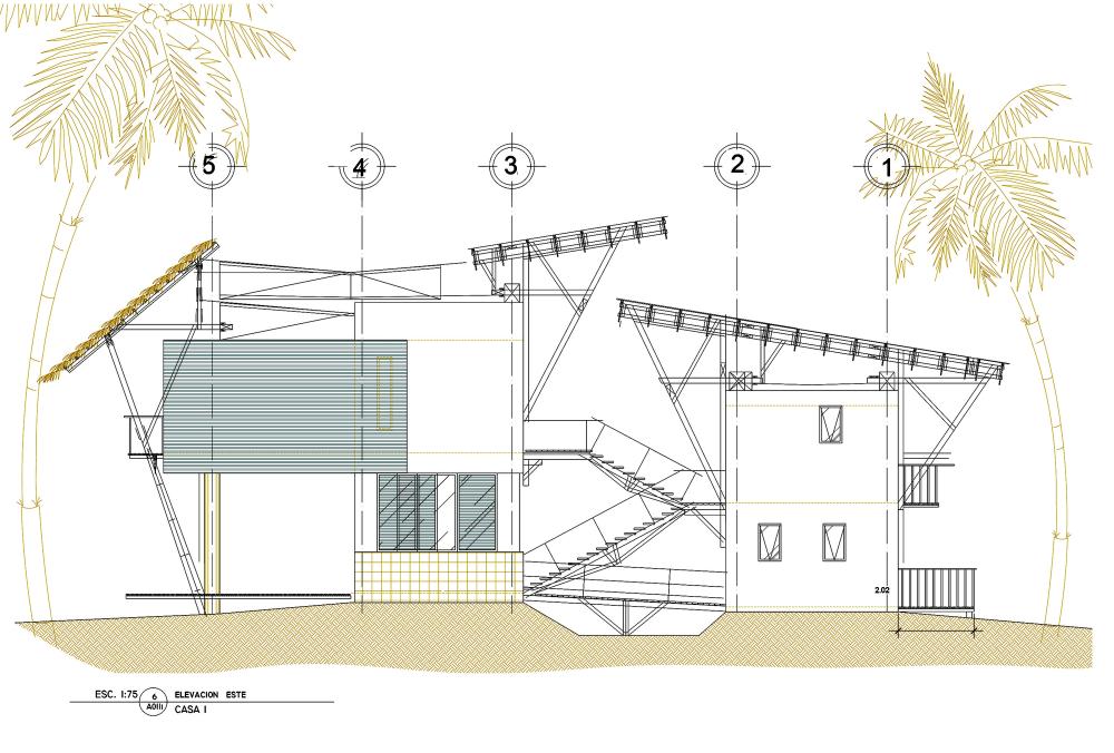 危地马拉海滨住宅 guatemala beach house christian ochaita roberto galvez Christian Ochaita + Roberto Gálvez  (10)