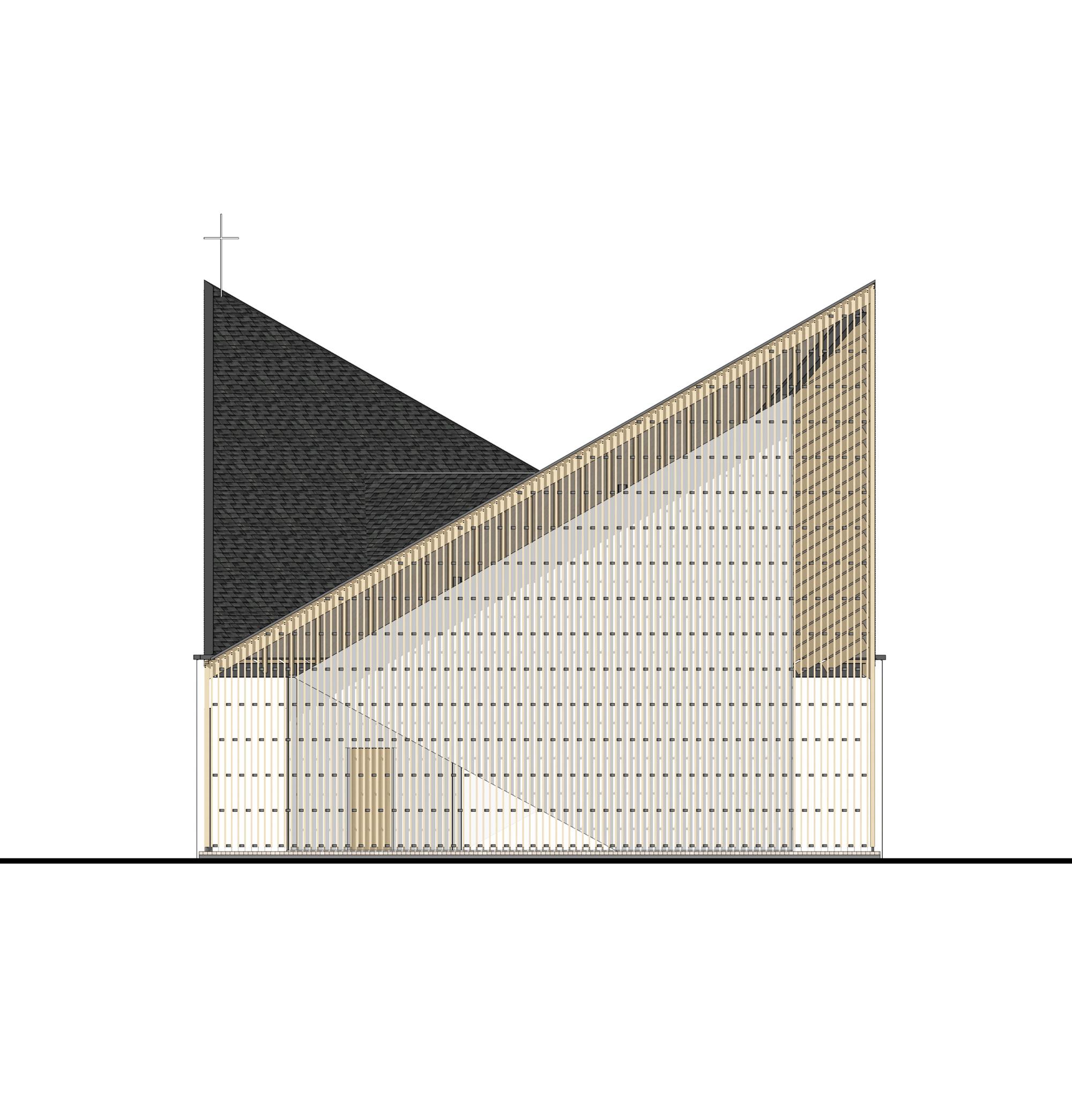 5434867ec07a8002d700001e_nanjing-wanjing-garden-chapel-azl-architects_southeast_elevation