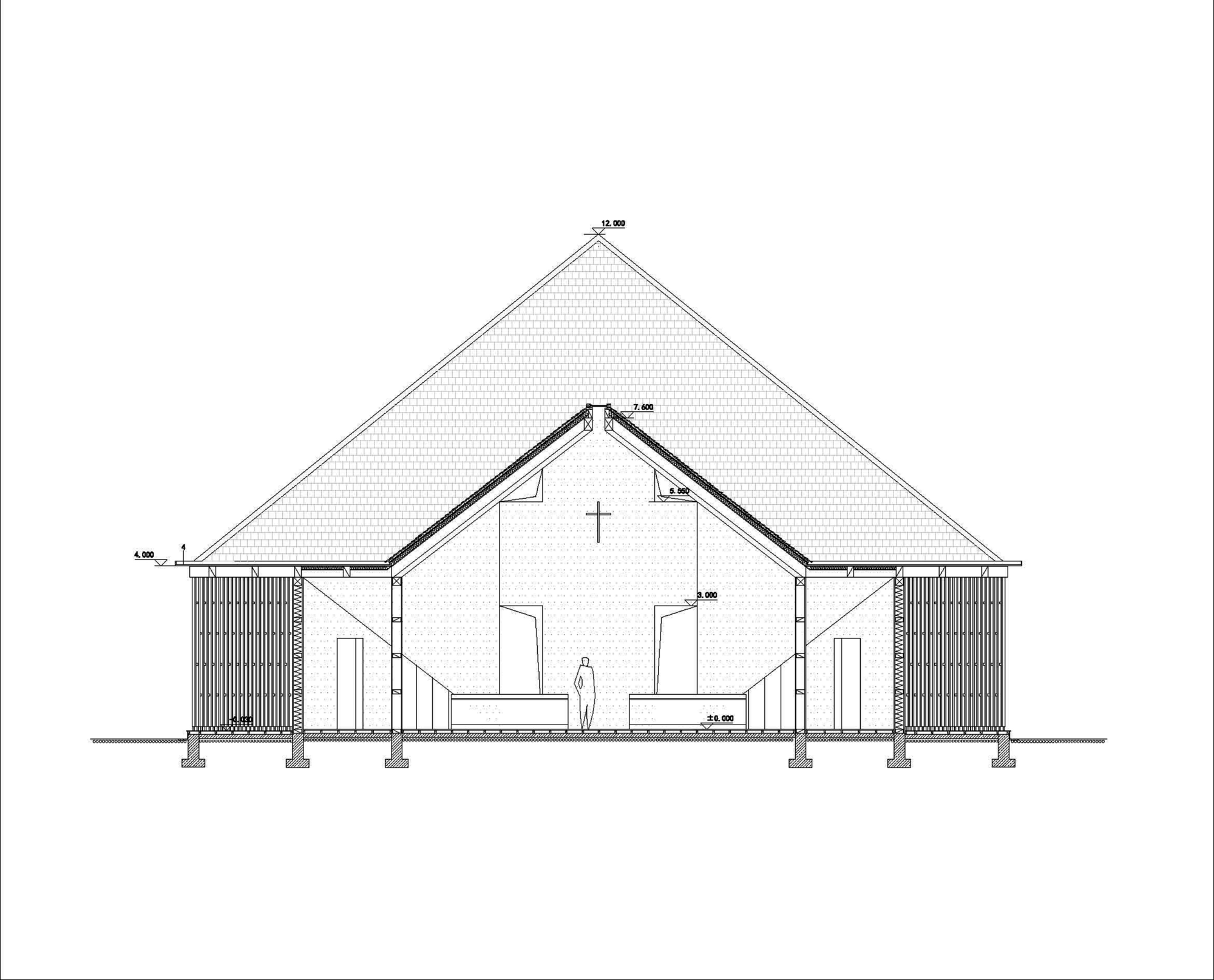54348624c07a80110e000021_nanjing-wanjing-garden-chapel-azl-architects_section