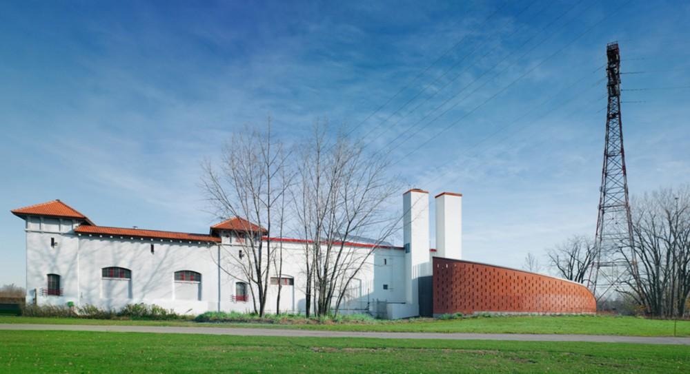 加拿大蒙特利尔拉萨尔水务设施大楼 (2)