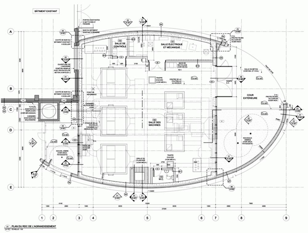 加拿大蒙特利尔拉萨尔水务设施大楼 (5)