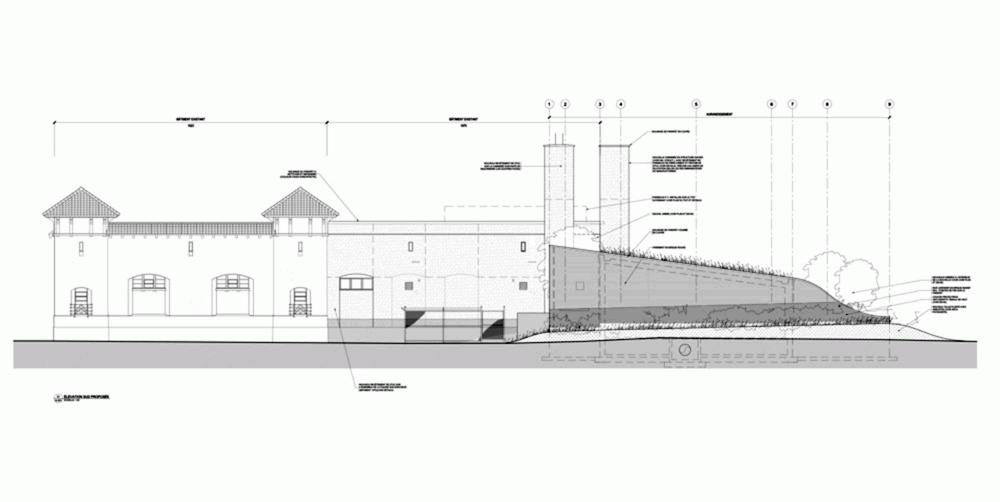 加拿大蒙特利尔拉萨尔水务设施大楼 (6)