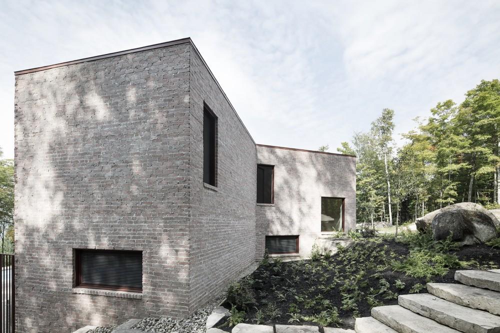 加拿大魁北克省Les Elfes住宅  les elfes alain carle architecte Alain Carle Architec (3)