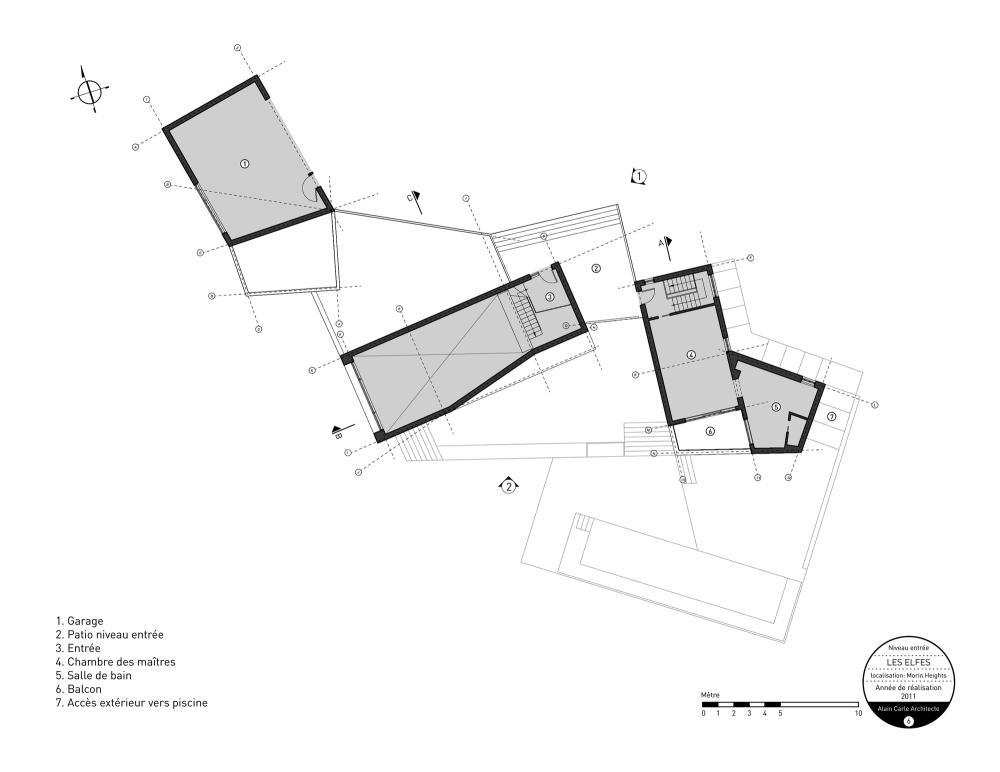 加拿大魁北克省Les Elfes住宅  les elfes alain carle architecte Alain Carle Architec (4)