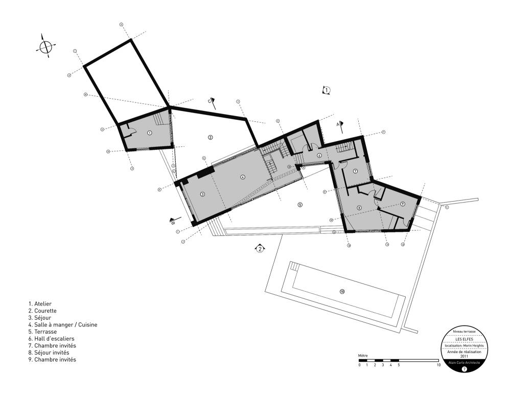加拿大魁北克省Les Elfes住宅  les elfes alain carle architecte Alain Carle Architec (5)