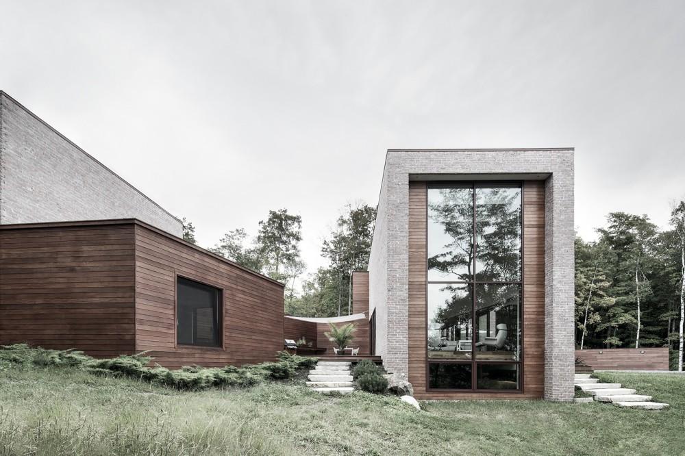 加拿大魁北克省Les Elfes住宅  les elfes alain carle architecte Alain Carle Architec (7)