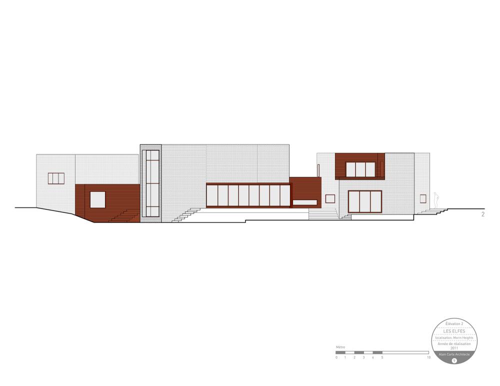 加拿大魁北克省Les Elfes住宅  les elfes alain carle architecte Alain Carle Architec (8)