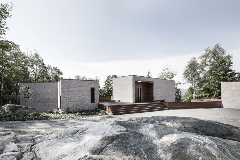 加拿大魁北克省Les Elfes住宅  les elfes alain carle architecte Alain Carle Architec (9)