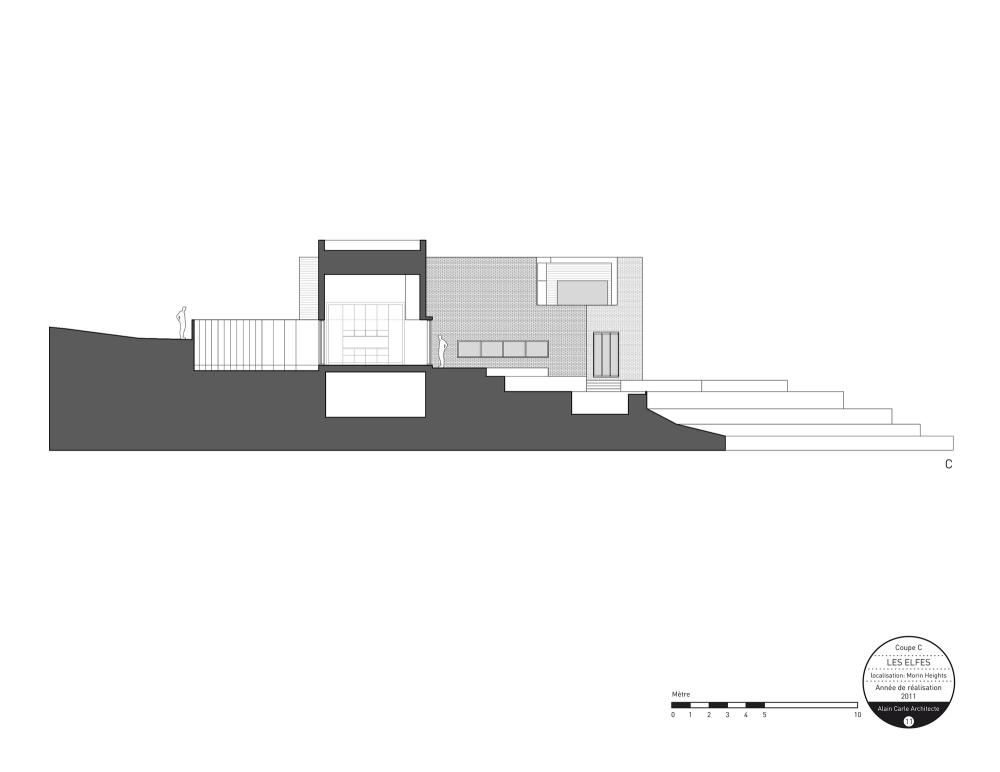 加拿大魁北克省Les Elfes住宅  les elfes alain carle architecte Alain Carle Architec (11)