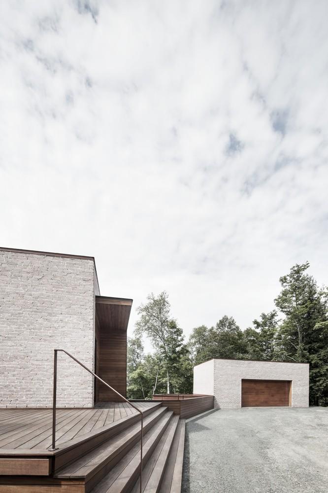加拿大魁北克省Les Elfes住宅  les elfes alain carle architecte Alain Carle Architec (15)