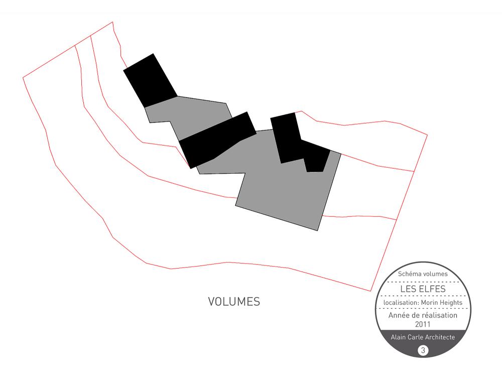 加拿大魁北克省Les Elfes住宅  les elfes alain carle architecte Alain Carle Architec (16)