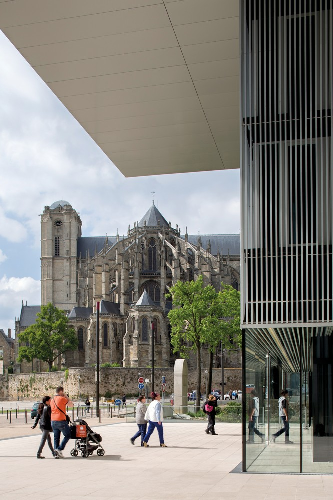 法国勒芒康孔斯文化中心 les quinconces cultural center babin renaud Babin+Renaud (3)