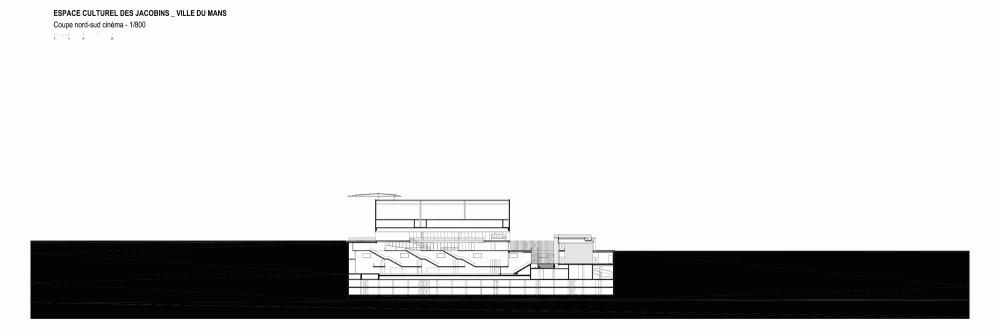 法国勒芒康孔斯文化中心 les quinconces cultural center babin renaud Babin+Renaud (4)