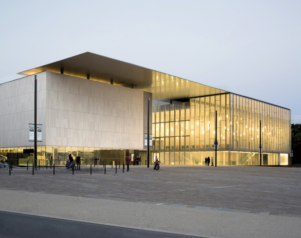 法国勒芒康孔斯文化中心 les quinconces cultural center babin renaud Babin+Renaud (8)