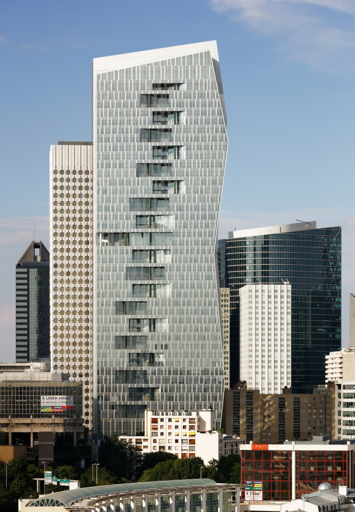 法国拉德芳斯马任加塔楼  majunga-tower jean paul viguier et associes 2  Jean-Paul Viguier et Associés (4)