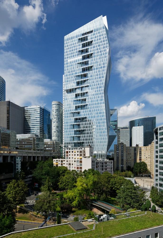 法国拉德芳斯马任加塔楼  majunga-tower jean paul viguier et associes 2  Jean-Paul Viguier et Associés (5)
