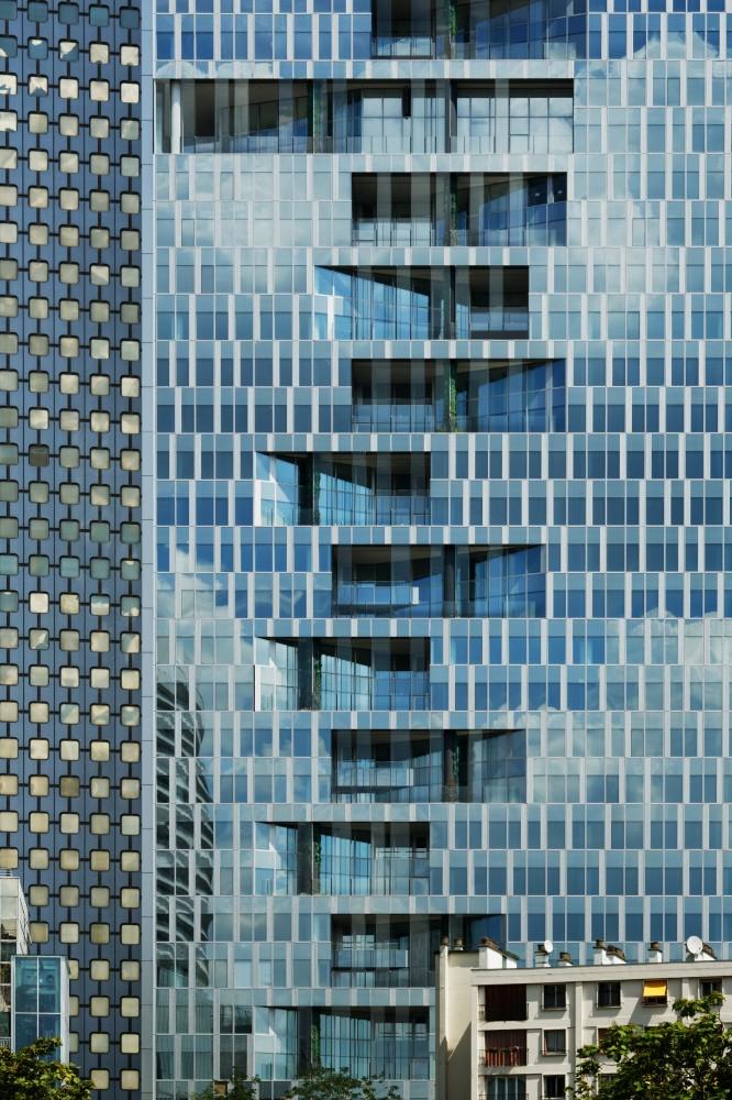 法国拉德芳斯马任加塔楼  majunga-tower jean paul viguier et associes 2  Jean-Paul Viguier et Associés (9)