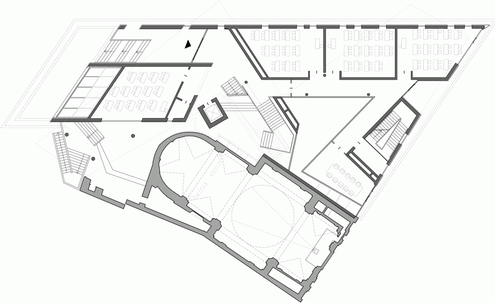 香草广场新学校new school in piazz delle erbe pfp architekten  PFP Architekten (1)