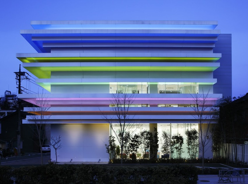 巢鸭信用银行Sugamo Shinkin Bank Emmanuelle Moureaux Architecture + Design