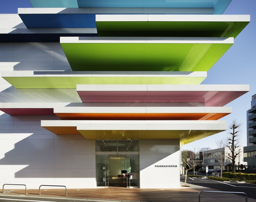 巢鸭信用银行Sugamo Shinkin Bank Emmanuelle Moureaux Architecture + Design (5)